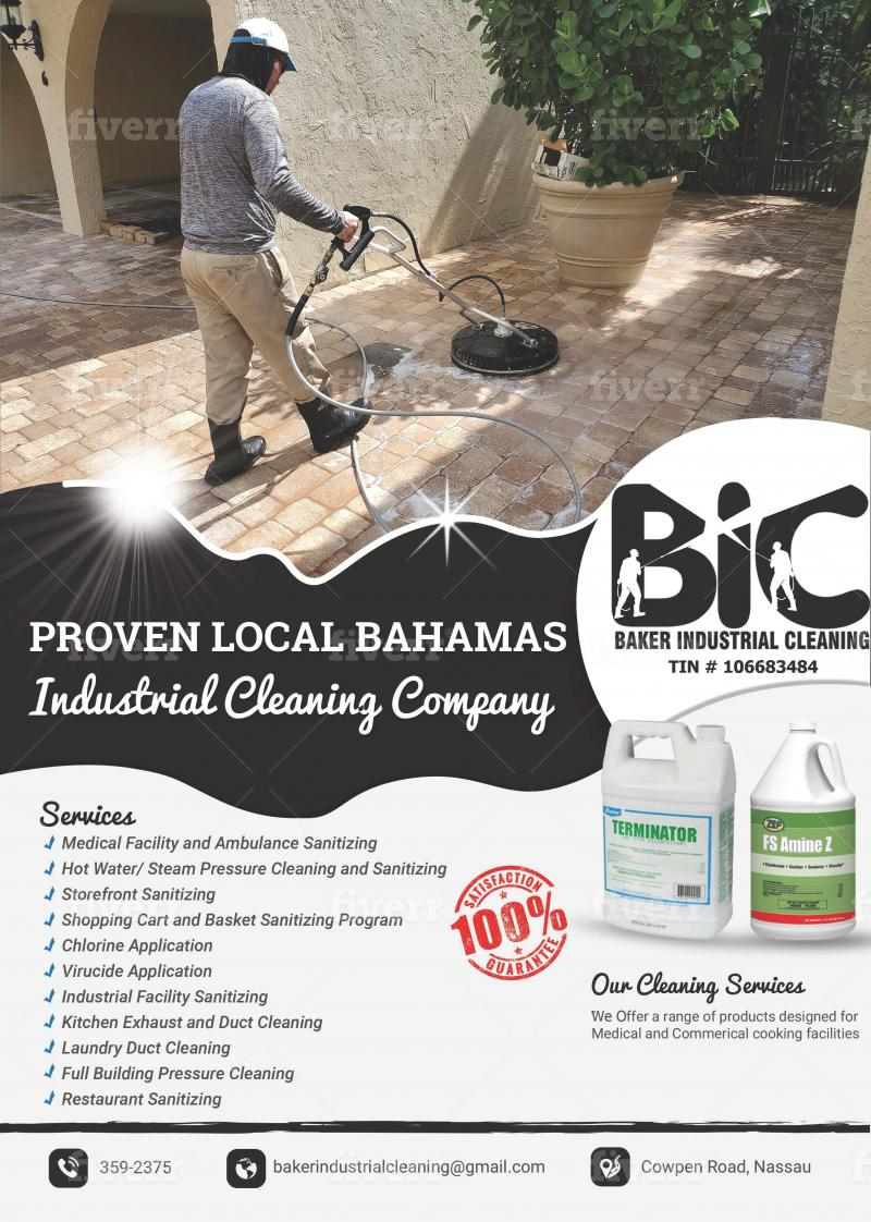 Baker Industrial Cleaning Bahamas and Caribbean