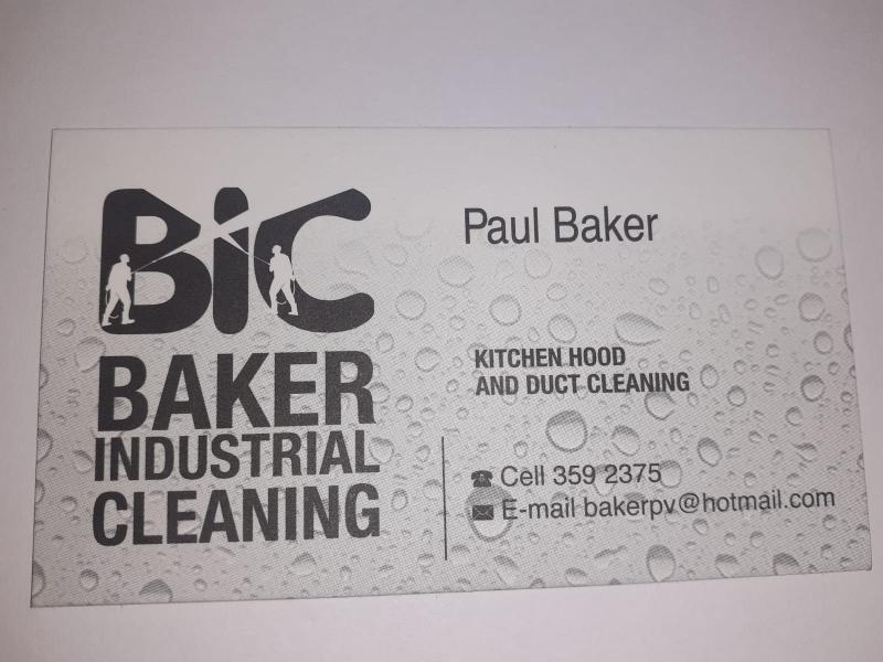 Paul Baker - Owner of Baker Industrial Cleaning Company - Bahamas Caribbean